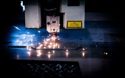 Laserowe cięcie stali do celów przemysłowych